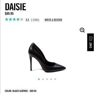 "Brand New ""Daisie"" Leather Pumps"
